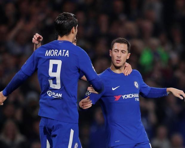 Chelsea Hazard Morata