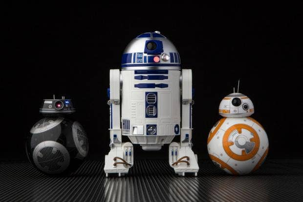 r2 d2 and bb 9e droids the must have christmas gifts for star wars fans the independent. Black Bedroom Furniture Sets. Home Design Ideas