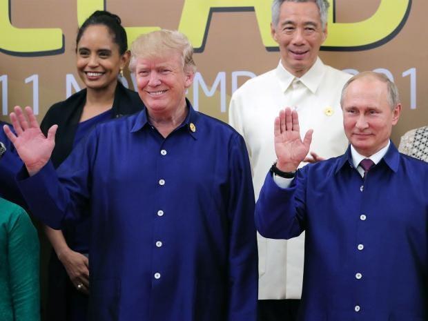 Donald Trump snubs Formal Putin Meeting At APEC Summit In Vietnam The Independent