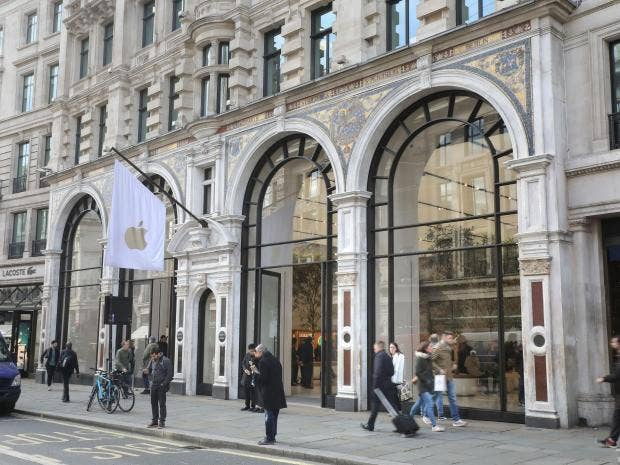 Image result for apple store regent street