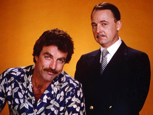 john hillerman actor who played higgins in eighties tv series magnum pi the independent. Black Bedroom Furniture Sets. Home Design Ideas