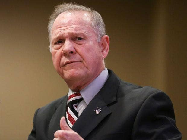 Republican Senate Candidate Roy Moore's Sexual Accusations