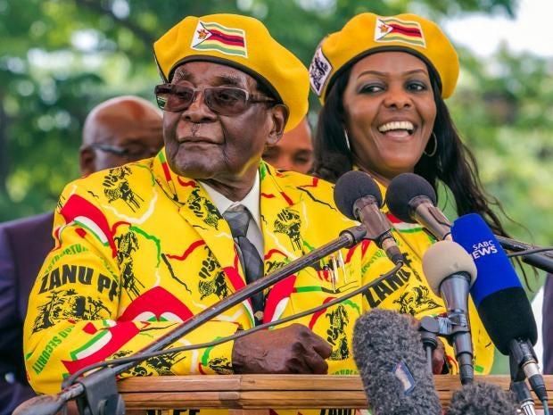 Zimbabwe Robert Mugabe To Receive M Plus Salary For Life - Where is zimbabwe