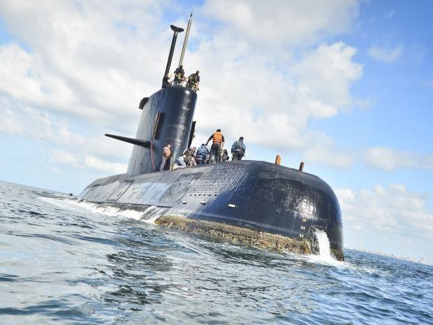 submarine failed satellite calls