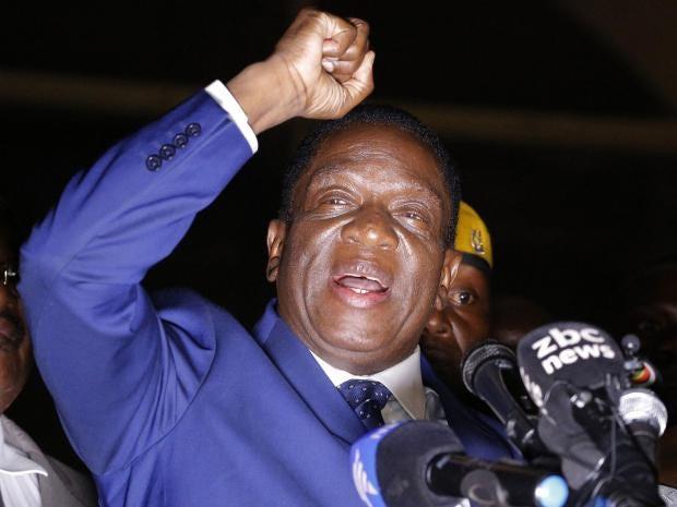 Kết quả hình ảnh cho picture of Emmerson Mnangagwa