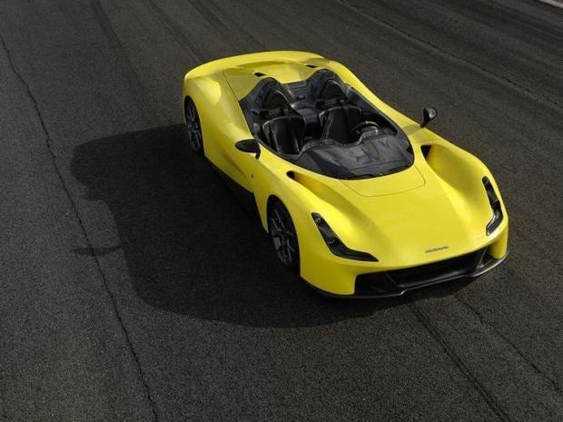 The all-new Dallara Stradale