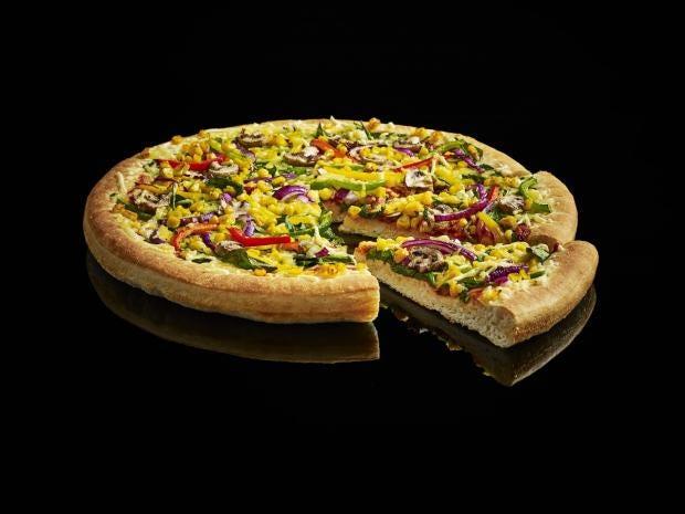 pizza hut vegan cheese