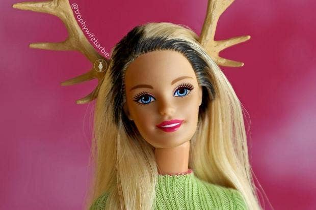 trophy wife barbie the instagram account depicting barbie like a real woman - Barbie