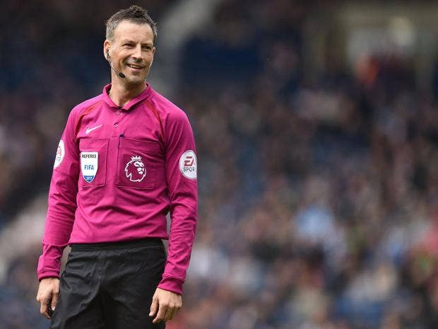 Image result for mark clattenburg