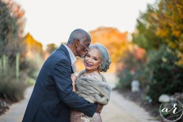 Married couple celebrate beating cancer twice in 47th wedding