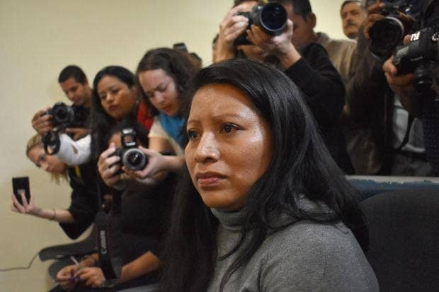 Teodora Vasquez El Salvador Court Refuses To Overturn 30 Year