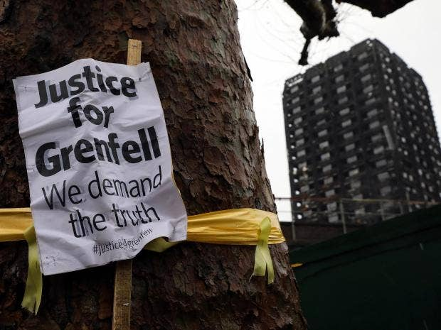 Grenfell Tower Fire Report Finds Uk Building Regulations Not Fit For Purpose The Independent