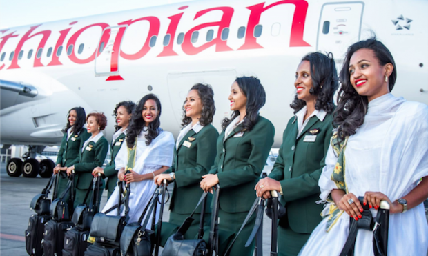 Ethiopian Airlines operates first all-female flight crew in Africa