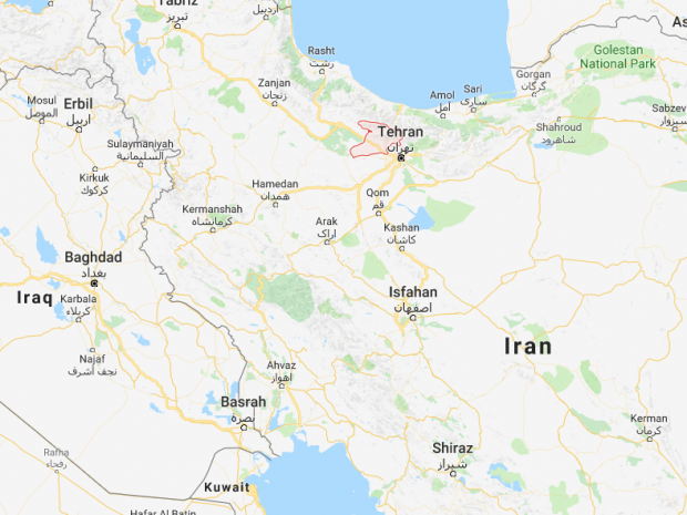 Tehran Earthquake Magnitude Tremor Hits Irans Capital The - Where is tehran