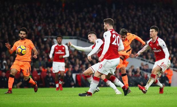 Image result for Arsenal Vs Liverpool (3 - 3)
