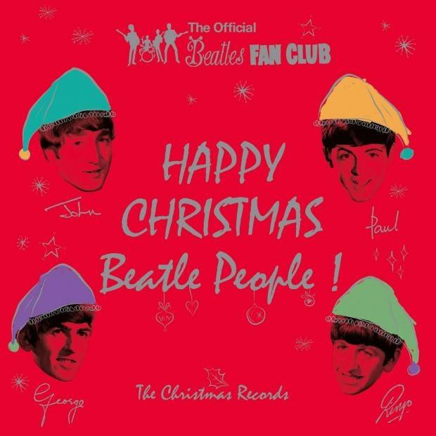 Album Box Set Reviews The Beatles Happy Christmas