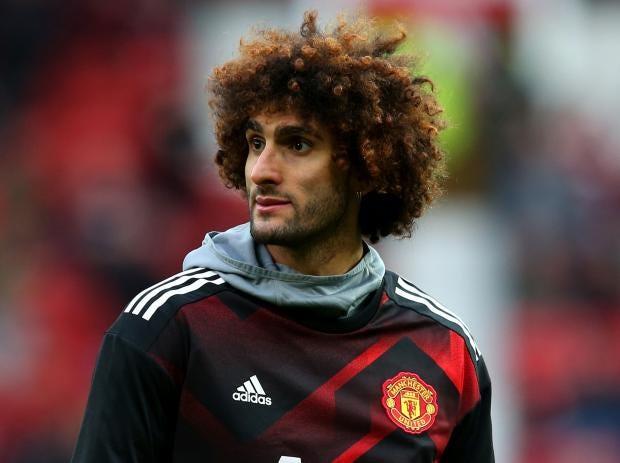 Marouane Fellaini Looks Set To Leave Manchester United Getty