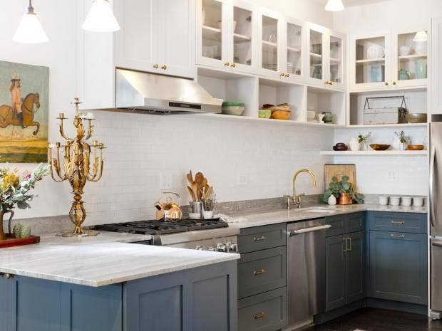 Ten home design trends to expect in 2018 the independent for Kitchen cabinet trends 2018 combined with decorative wall art tiles