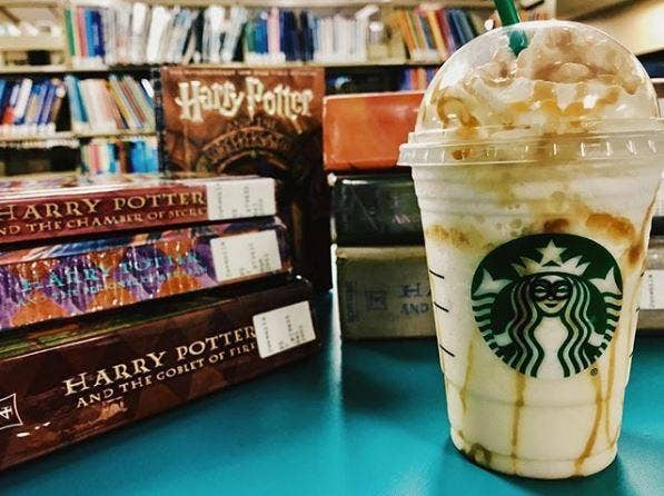 Butterbeer Frappuccino With Coffee