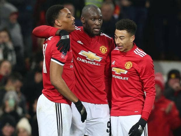 Manchester united strike late through jesse lingard and romelu manchester united stopboris Gallery