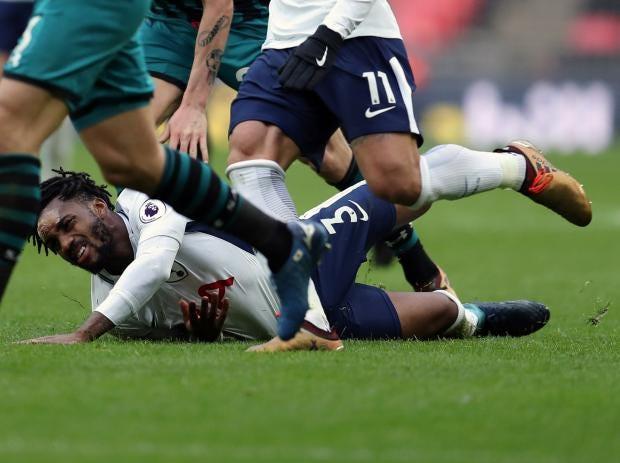 Danny Rose tottenham knee injury