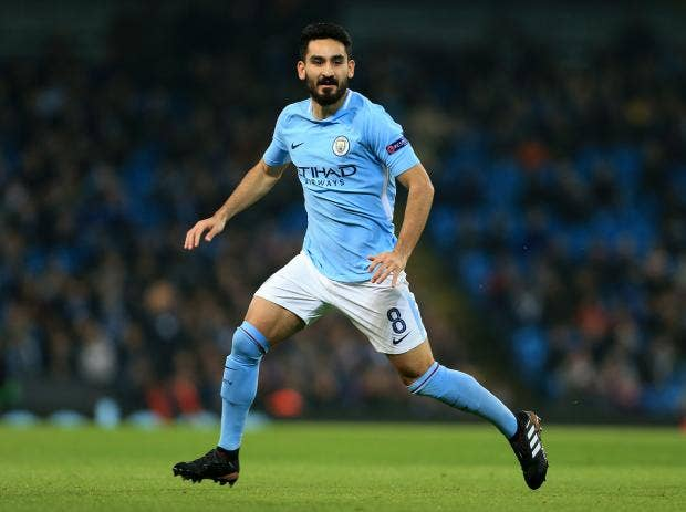 Ilkay Gundogan Wallpaper Manchester City's Ilka...