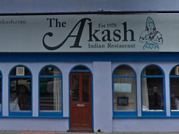 Briton gets favourite curry flown from southampton to for Akash indian cuisine