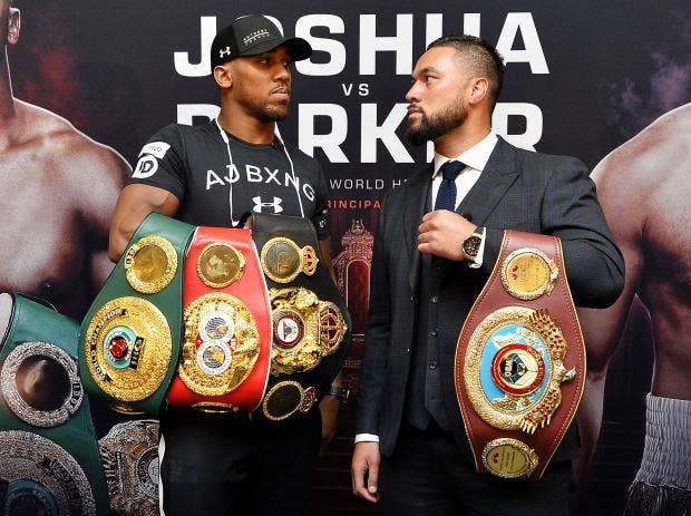 Anthony Joshua's press conference with Joseph Parker lacked fireworks, but  had plenty of lurking menace