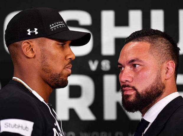 Anthony Joshua vs Joseph Parker: What time is it, where can I watch, ticket  details, professional records and odds