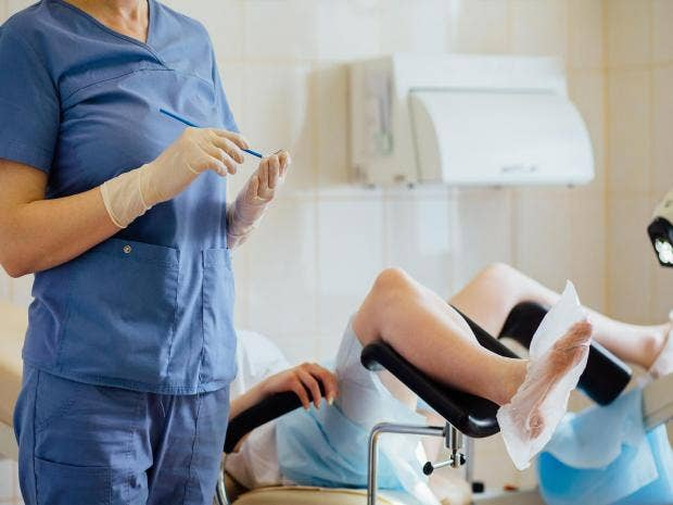Young women too ashamed of their bodies to attend smear tests cervical cancer causes roughly 890 deaths each year according to figures shutterstock solutioingenieria Gallery