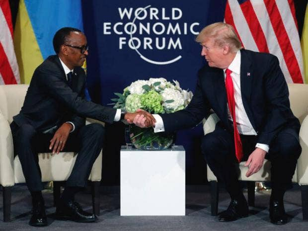 Trump letter to African leaders says he 'deeply respects' people of  continent after 's***hole' furore