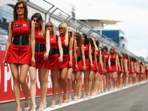 Goodbye Grid Girls There Is No Place In Sport For Sexual