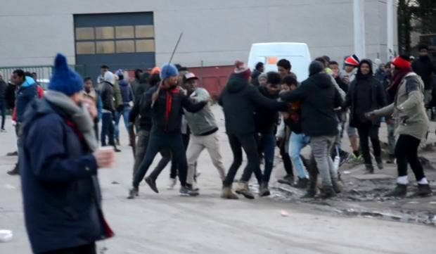Hasil gambar untuk CALAIS violence