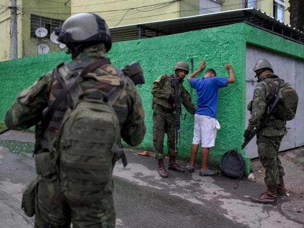 President calls in army as murderous gang crime threatens to overwhelm Rio  de Janeiro