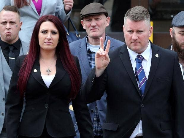 Image result for anti britain first