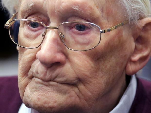 Oskar Groening Bookkeeper Of Auschwitzs Before Starting Prison Sentence