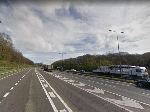 At least nine dead amid widespread disruption on britains roads two men were killed after the westbound crash at junction 26 of the m62 google fandeluxe Choice Image