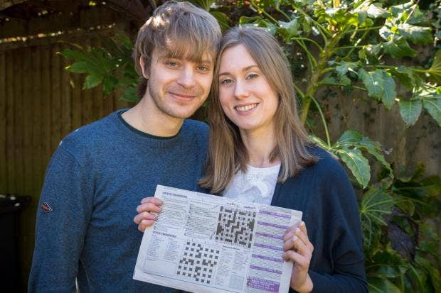 Man Proposes To Girlfriend With Cryptic Personalised Crossword The
