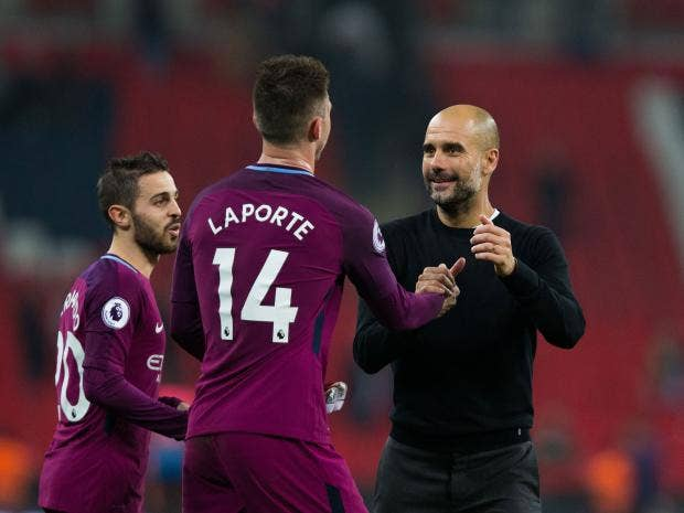 Image result for pep guardiola spurs 1-3 man city