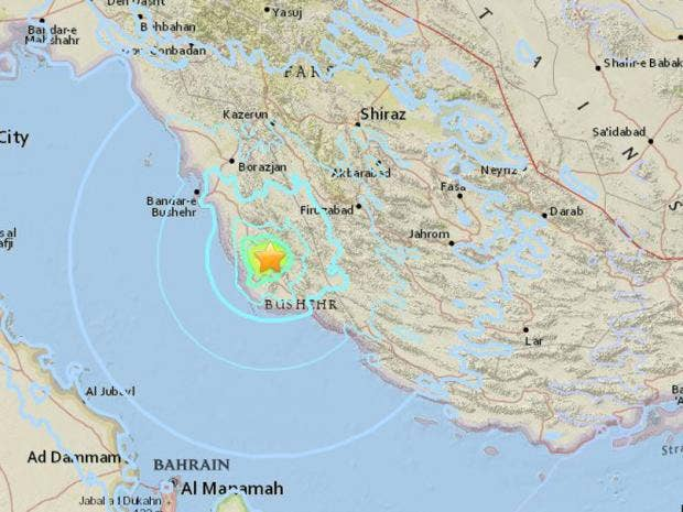 Iran earthquake latest: Magnitude-5.5 quake strikes near ...
