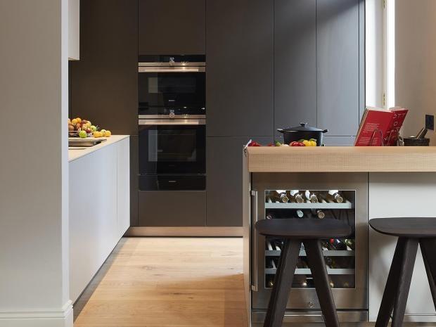 best design of kitchen. Islands  exposed brickwork and the blackest blacks top trends for kitchen design in 2018