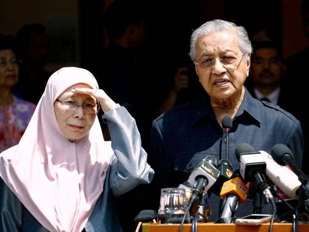 Image result for Prime Minister Mahathir Mohamad