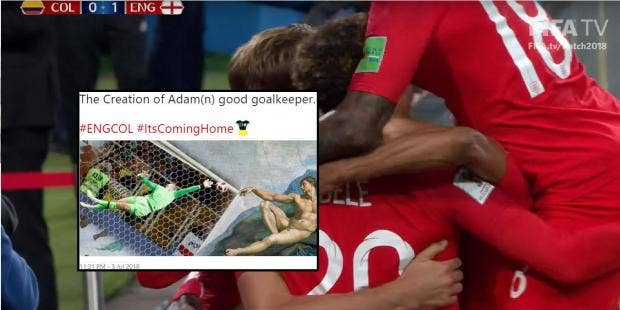 eng world cup 2018 12 of the greatest memes from england vs colombia