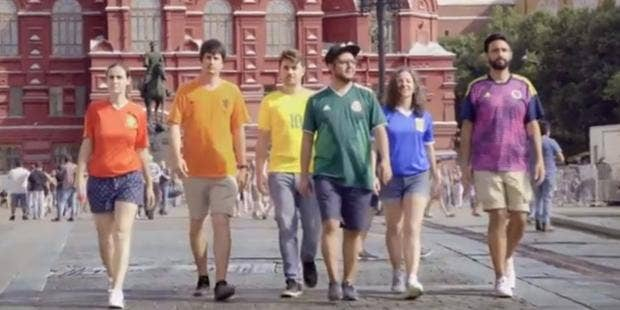 World Cup 2018 Lgbt Activists Are Using Football Shirts To Display