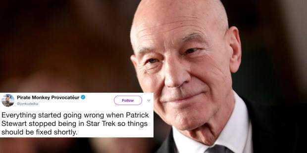 Star Trek The 13 Best Memes From Patrick Stewart Reprising His Role