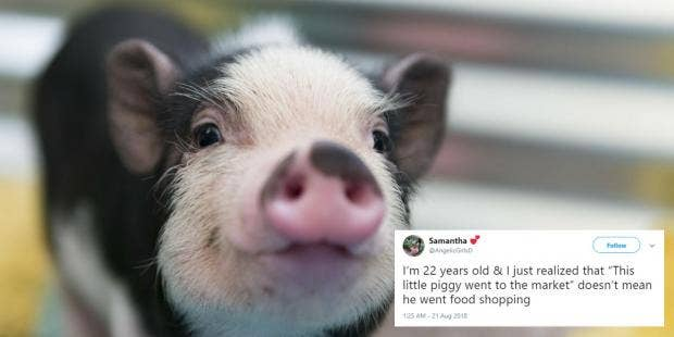 the real meaning behind this little piggy is much much darker