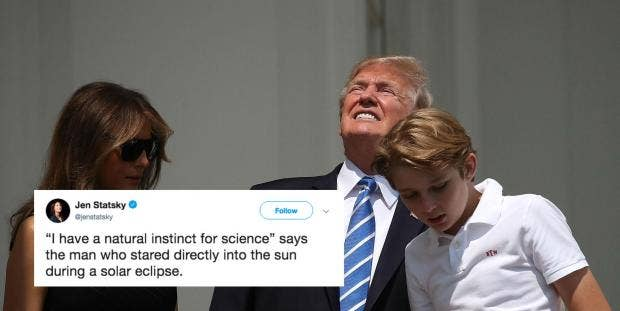 trump claimed that he had a natural instinct for science and the