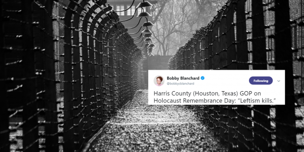 Texas Republicans Criticised For Facebook Post Blaming The Holocaust