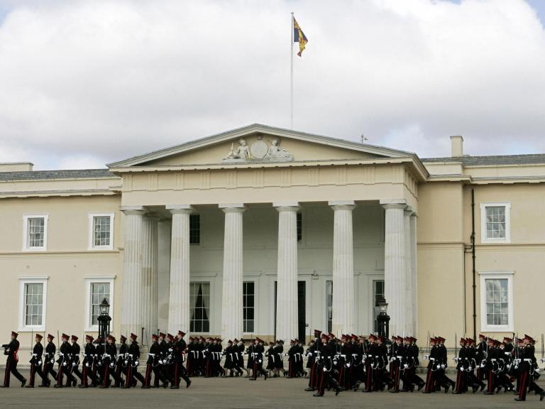 Military police investigate claims two officer cadets 'waterboarded' recruit at Sandhurst