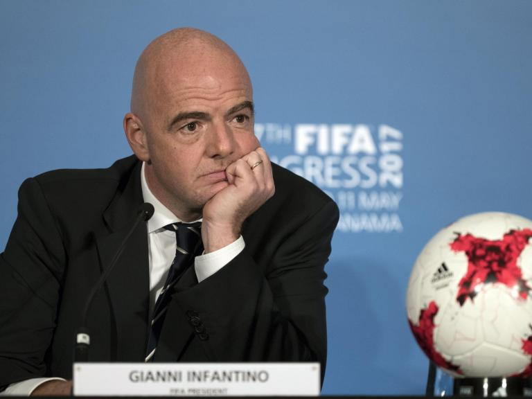 Fifa president Gianni Infantino wants VAR technology at 2018 World Cup